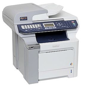 Crisp Printing, Wireless Connection: Brother MFC-9840CDW
