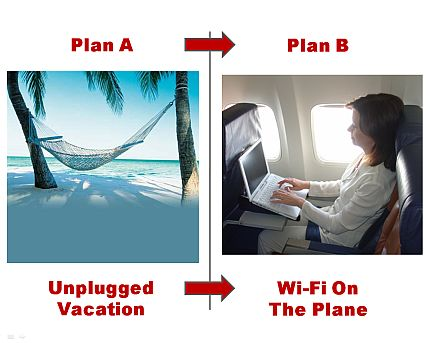 "Plan A: A Vacation Without Connectivity <font color=""#ba2124"">