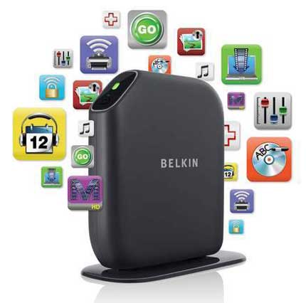 Belkin Play Max Wireless Modem