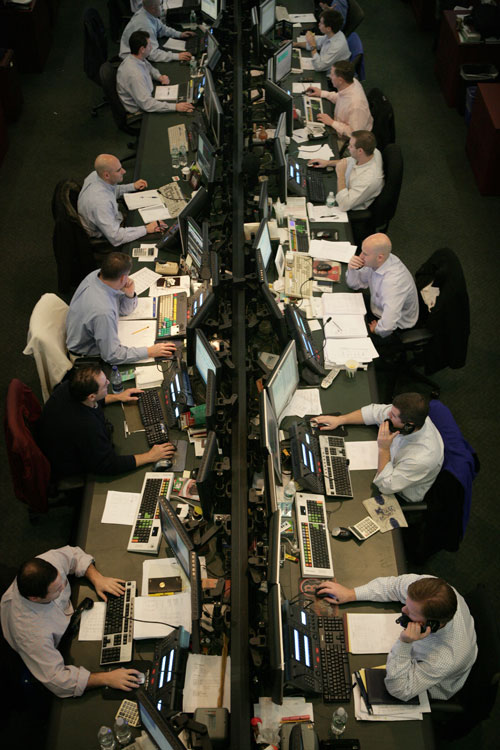 A View from Above the Block Trading Desk