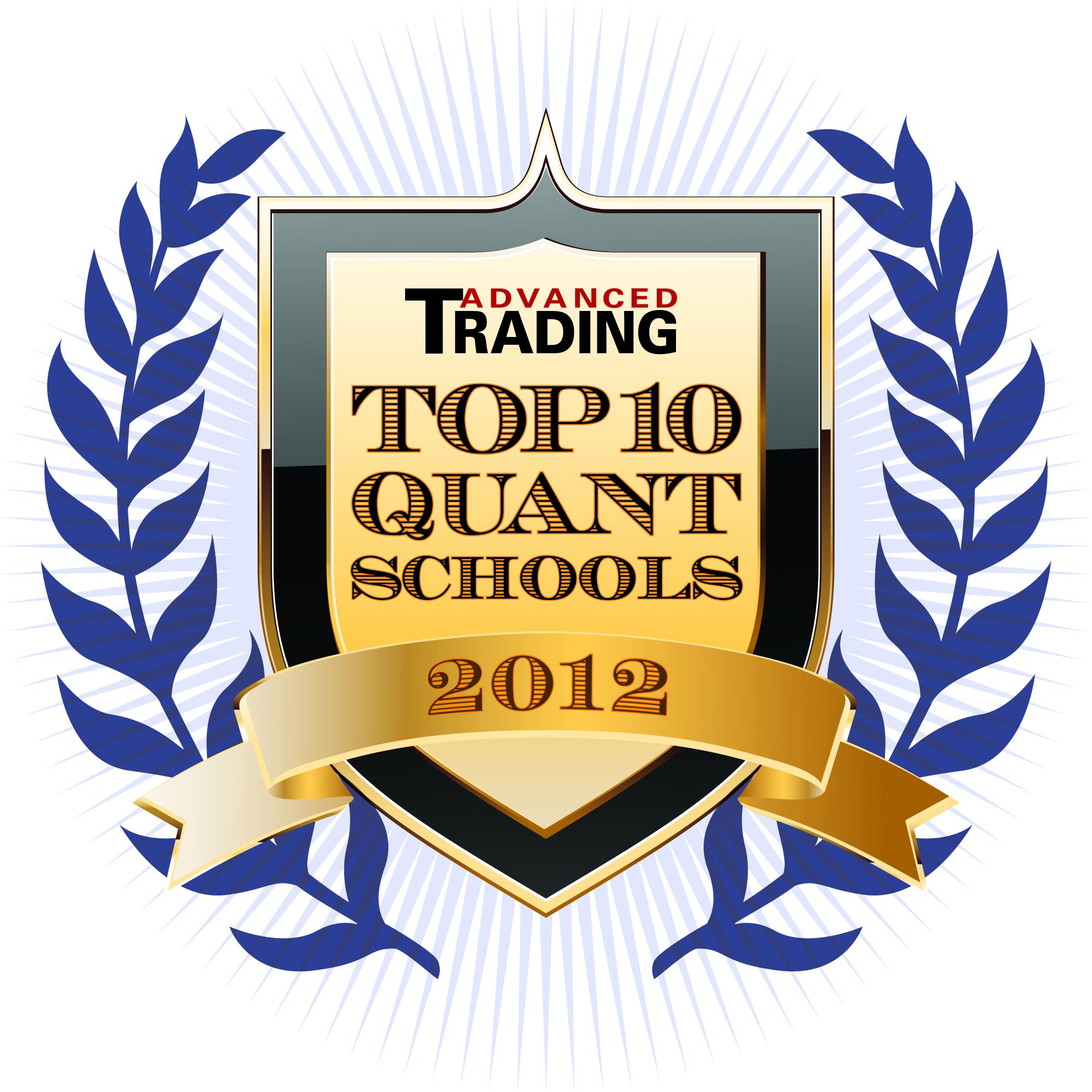 Top 10 Quant Schools of 2012