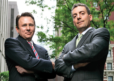 Brian Fagen, Cohead of Liquid Market Sales for the Americas, and Frank Troise, Head of Global Equities Electronic Trading Products, Barclays Capital