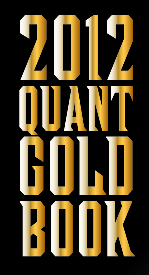 2012 quant gold book