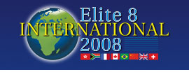 IST 2008 Elite 8 International Logo