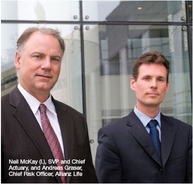 Neil McKay and Andreas Graser, Allianz Life