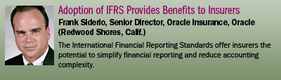 Adoption of IFRS Provides Benefits to Insurers
