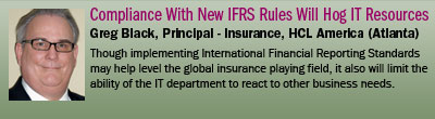 Compliance With New IFRS Rules Will Hog IT Resources