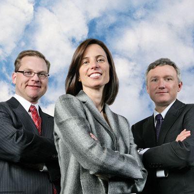 Adena Friedman, Randall Hopkins, Claude Courbois, Nasdaq