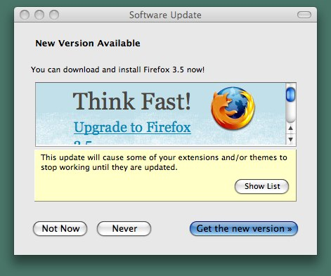 Firefox 3.5 is here.