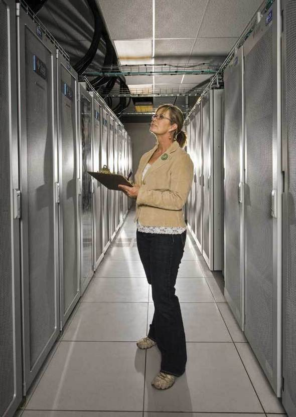 Image Gallery: Government's 10 Most Powerful Supercomputers