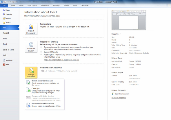 Image Gallery: Microsoft Sharepoint 2010 In Pictures