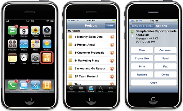 AT&amp;T iPhone App