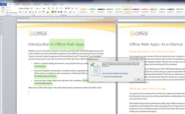 Office 2010 Web Apps