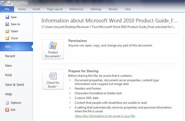 Office 2010 Customization