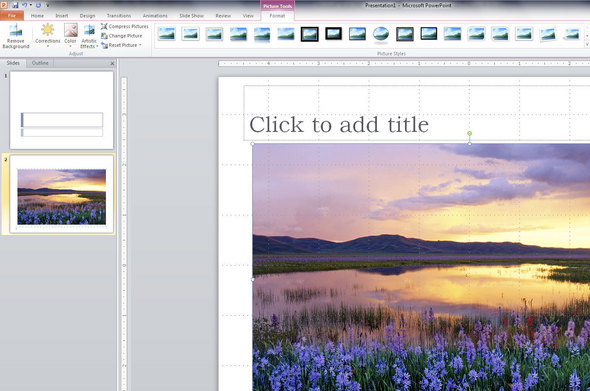 Microsoft Office 2010 In Pictures