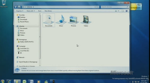 Windows 7 Revealed