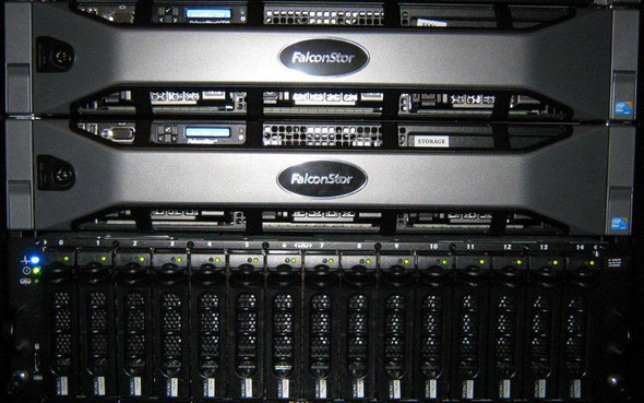 FalconStor Network Storage Server SAN Accelerator For VMware View