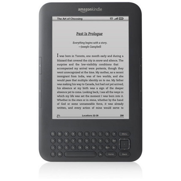 Amazon Kindle Wi-Fi + 3G