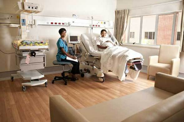 Labor, Delivery, Recover, Post-Partum Suite