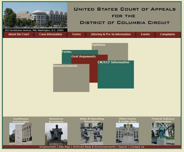 U.S. Court Of Appeals D.C. Circuit