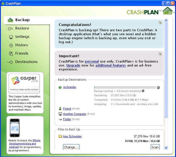 CrashPlan