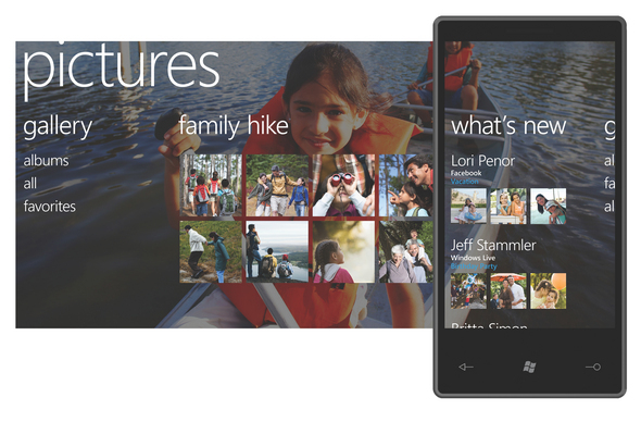 Slideshow: Microsoft's Windows Phone 7 Revealed