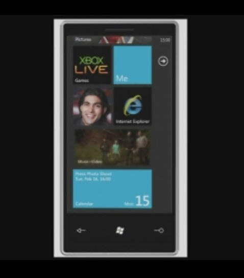 Windows Phone 7 Screen