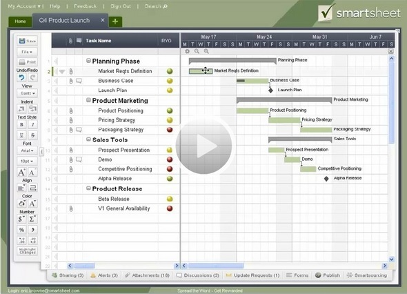 Plan Your Project: Smartsheet