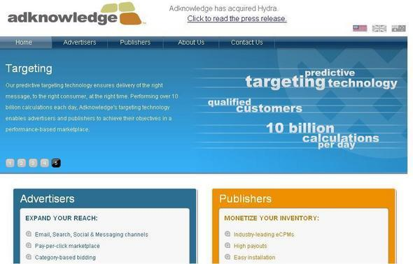 Adknowledge Targets Digital Media