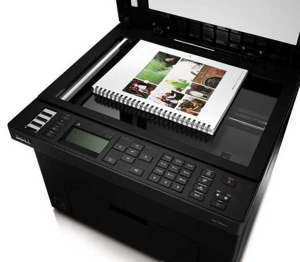 Dell 1355cnw Color Multifunction Printer