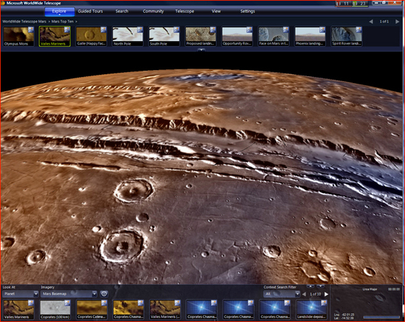 NASA, Microsoft Reveal Mars In Pictures