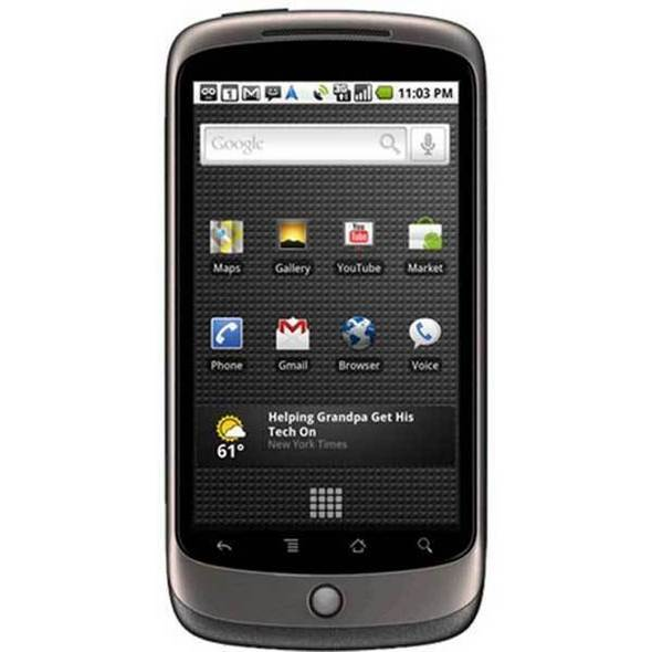 Google Nexus One Bombs