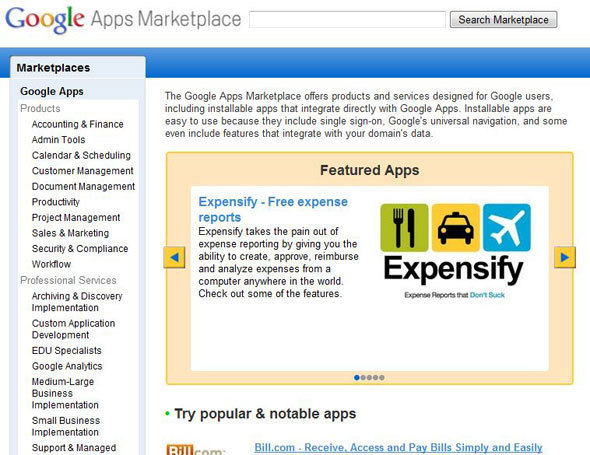 Google Apps Marketplace Delivers One-Stop Shop For SMBs