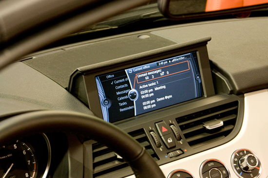 The Z4's On-board Display