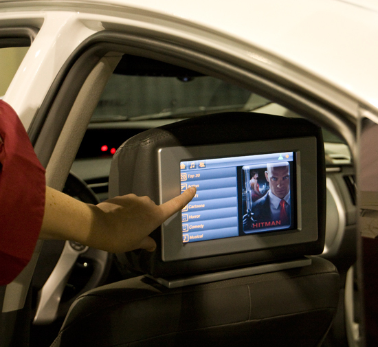 Alcatel-Lucent's Connected Car LTE Technology
