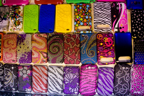 Touchtel Wireless' Glitzy Mobile Phone Covers