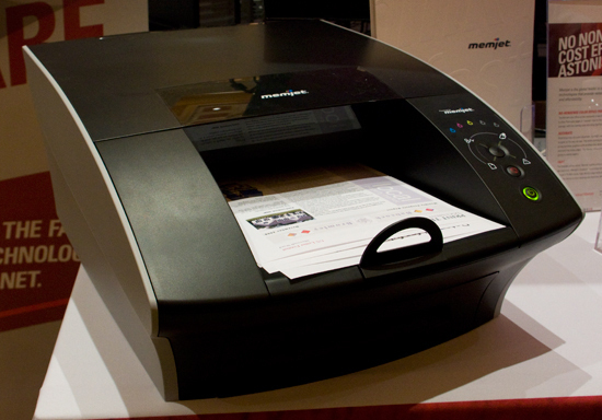 Memjet's Speedy Color Printer