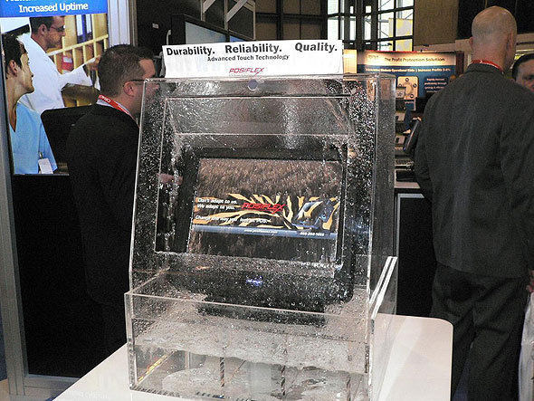 Touch Screens Stand Up to Liquids