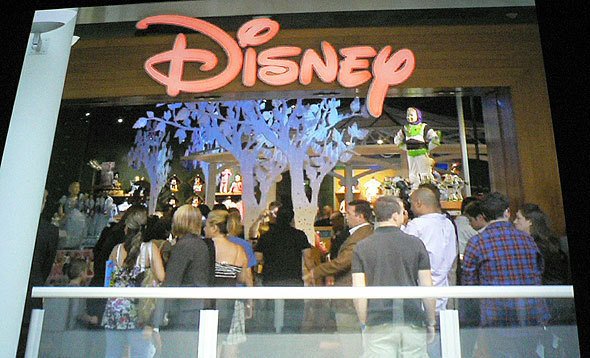 Tree Displays Highlight Disney Animations
