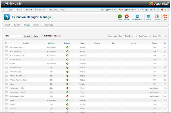 Inside Joomla 1.6: Improved Access Control, Categories