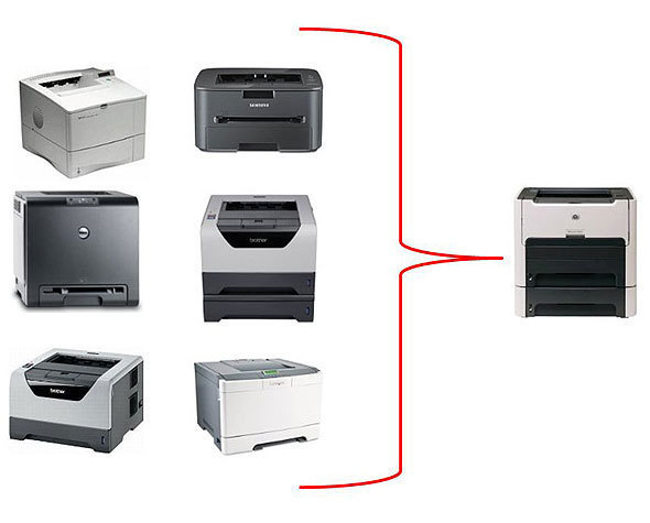 Share And Share Printers Alike