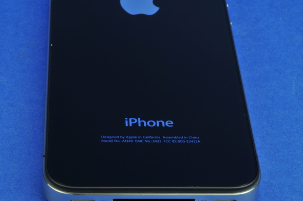 iPhone Back Markings