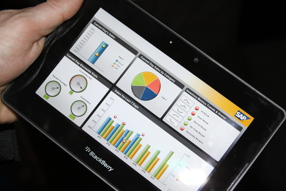 SAP BI Dashboard For Playbook
