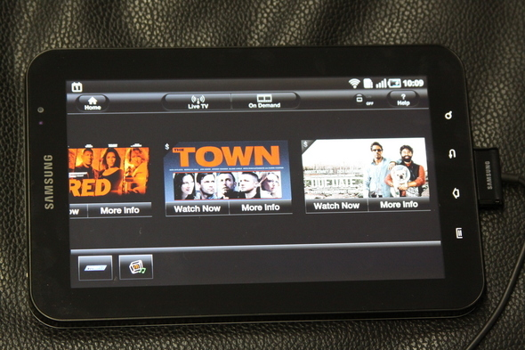 MobiTV VOD Programming On Android