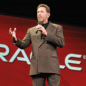 The basic IT problem is fragmentation of information, Oracle CEO Larry Ellison said.