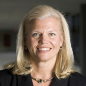 ''Our strategy is to link acquisitions to our high-value spaces.'' --Ginni Rometty -- Photo by James Leynse