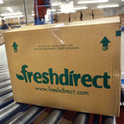 About 1 million items must move from FreshDirect's warehouse every week.
