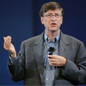 Microsoft chairman Gates provided only a general idea of what to expect in the upcoming IE 7.