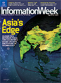 InformationWeek cover; 04/18/2005 issue