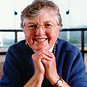 Frances Allen, winner of the 2006 A.M. Turing Award